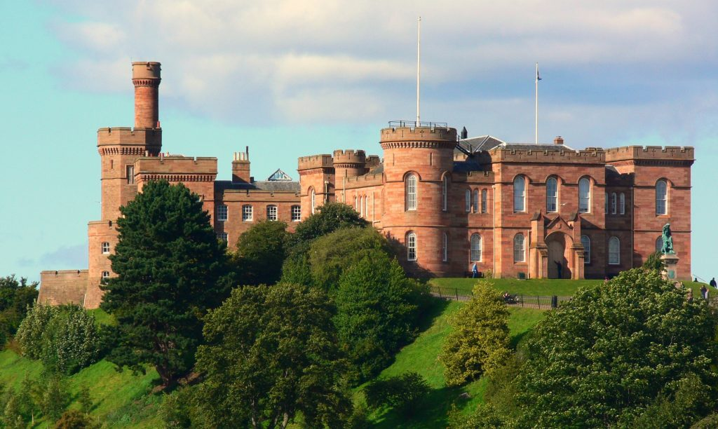 Best places to visit in inverness Inverness Castle inverness