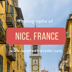 Photographs of Nice, France