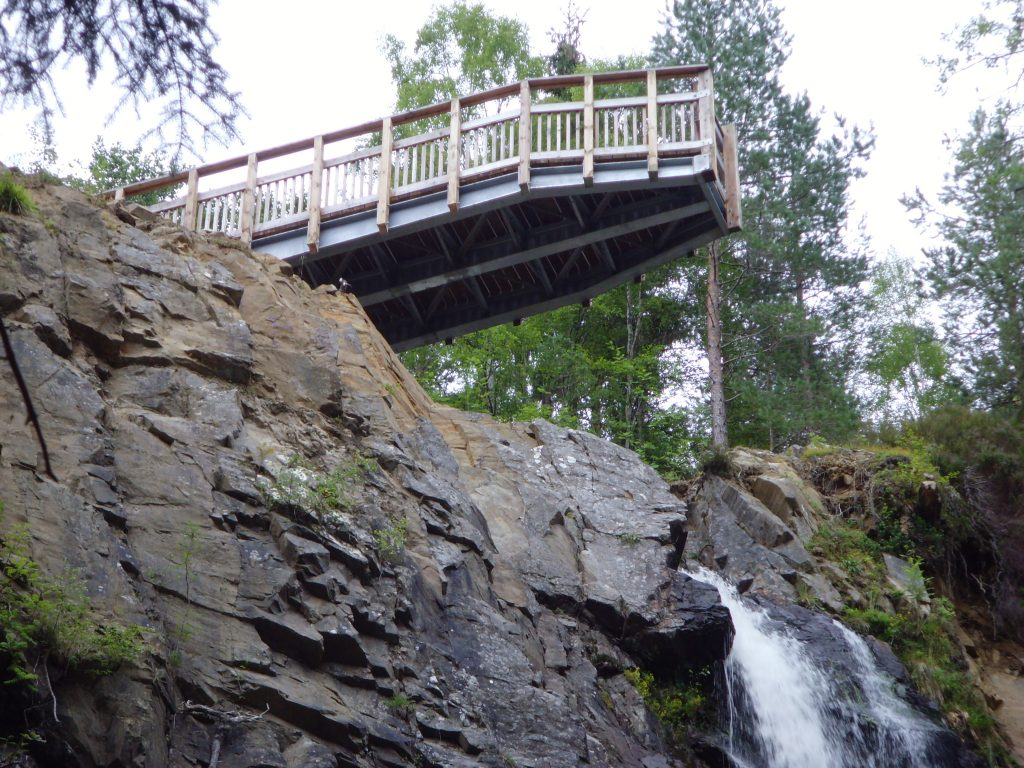 Best places to visit in inverness Plodda Falls inverness
