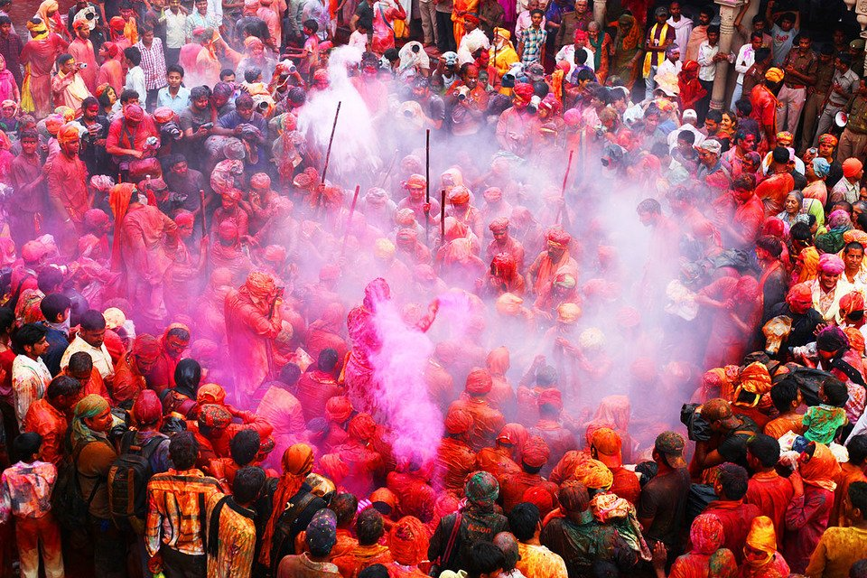 Festival of Colour and love