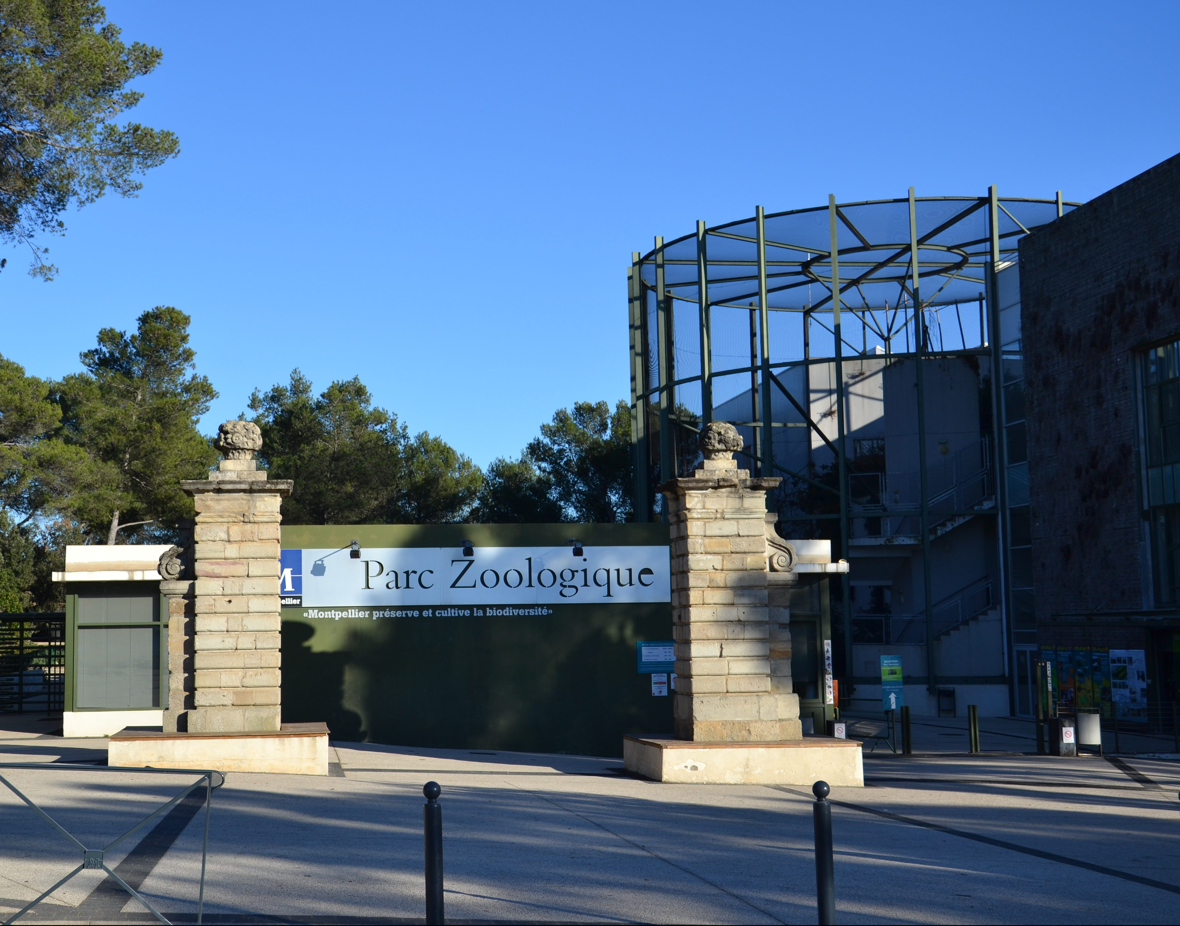 Montpellier Zoological Park Isolated Traveller