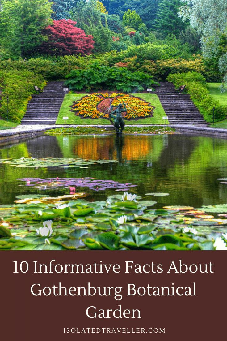 Facts About Gothenburg Botanical Garden