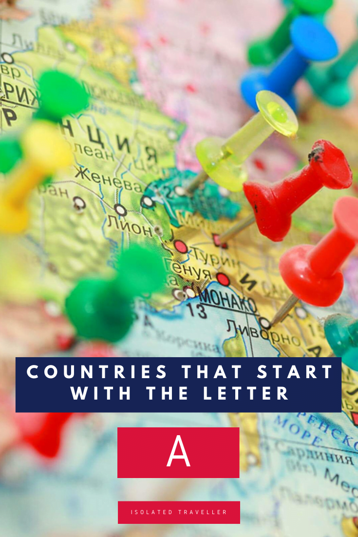 Countries That Start With the Letter A