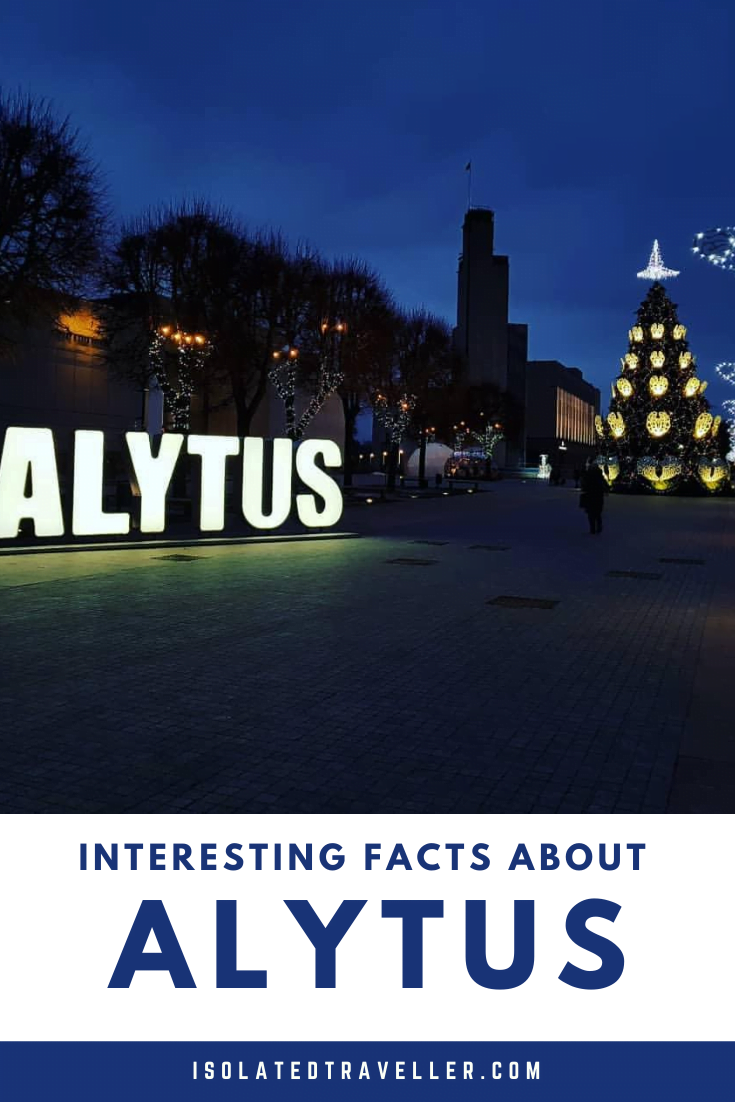 Facts About Alytus