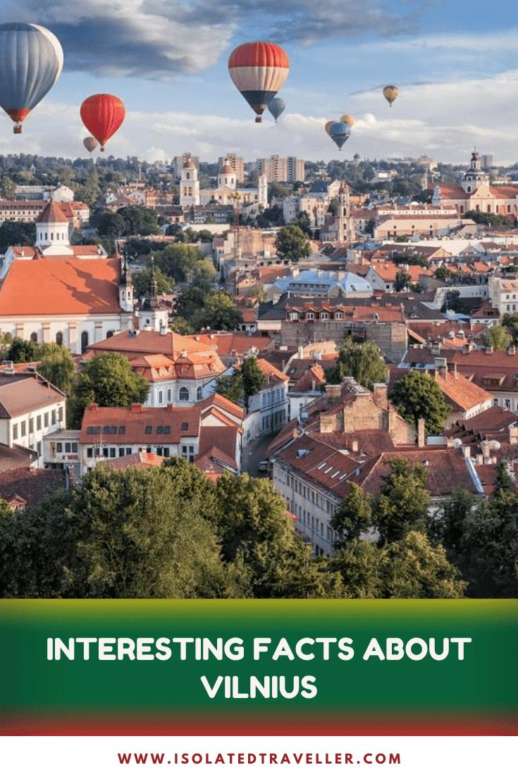 Facts About Vilnius