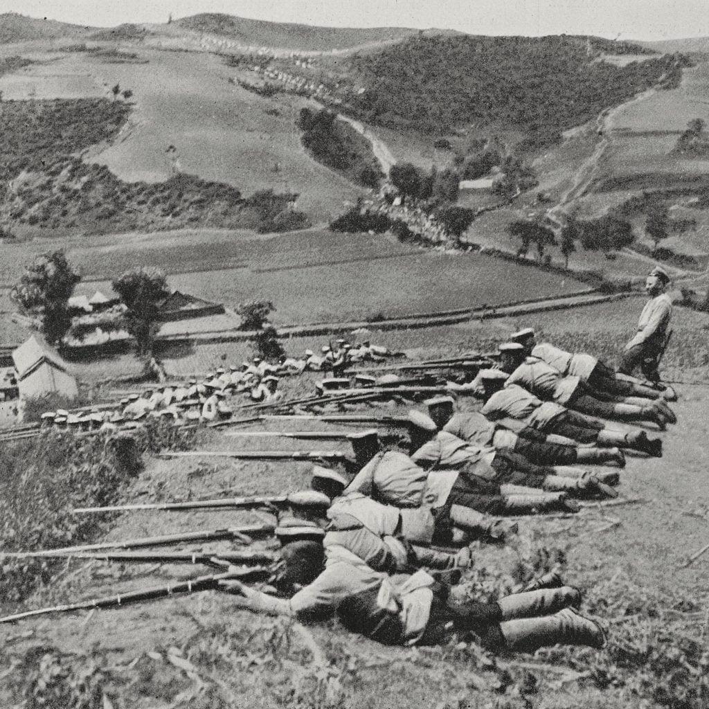 russian riflemen - Russo-Japanese War Facts