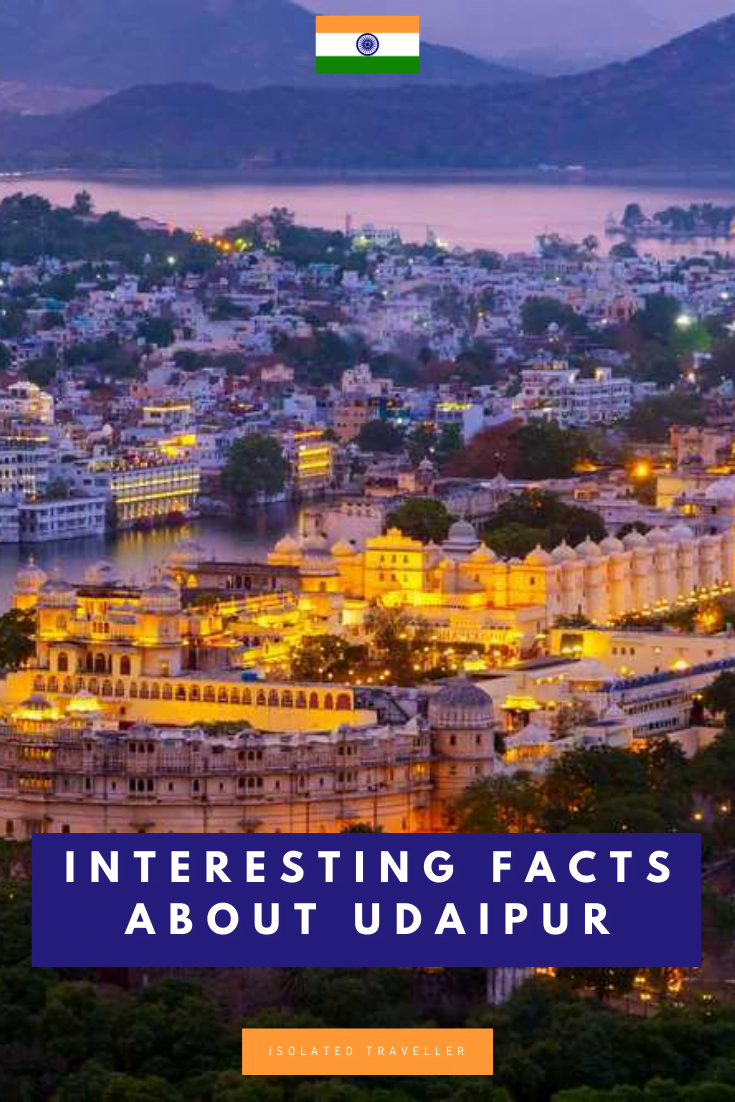 Facts About Udaipur