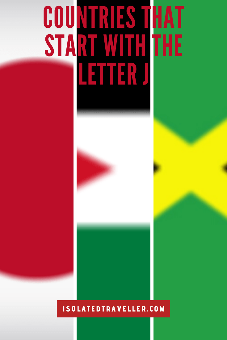 Countries That Start With The Letter J