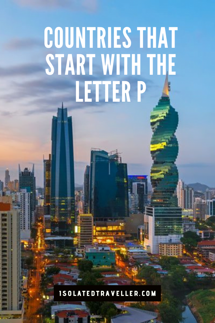 Countries That Start With The Letter P