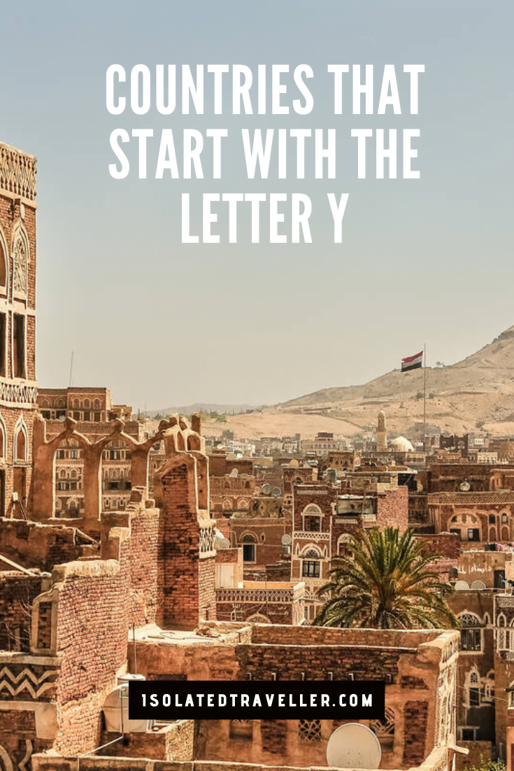 Countries That Start With The Letter Y