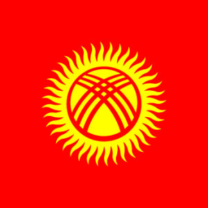 Flag of Turkic Council Flag of Kyrgyzstan Flag of Turkic Council