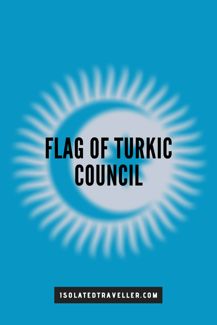 Flag of Turkic Council