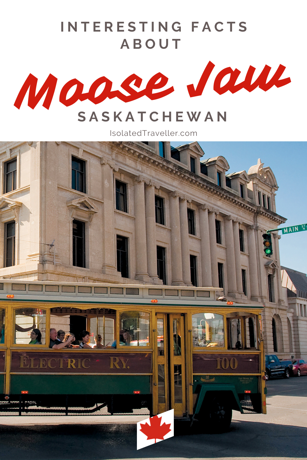 Facts About Moose Jaw
