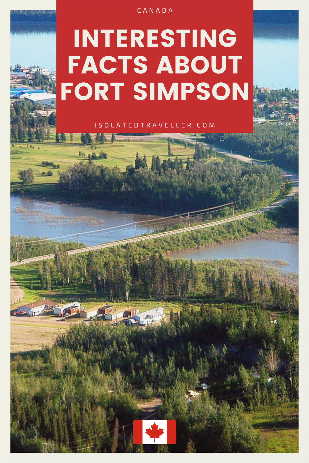 Facts About Fort Simpson
