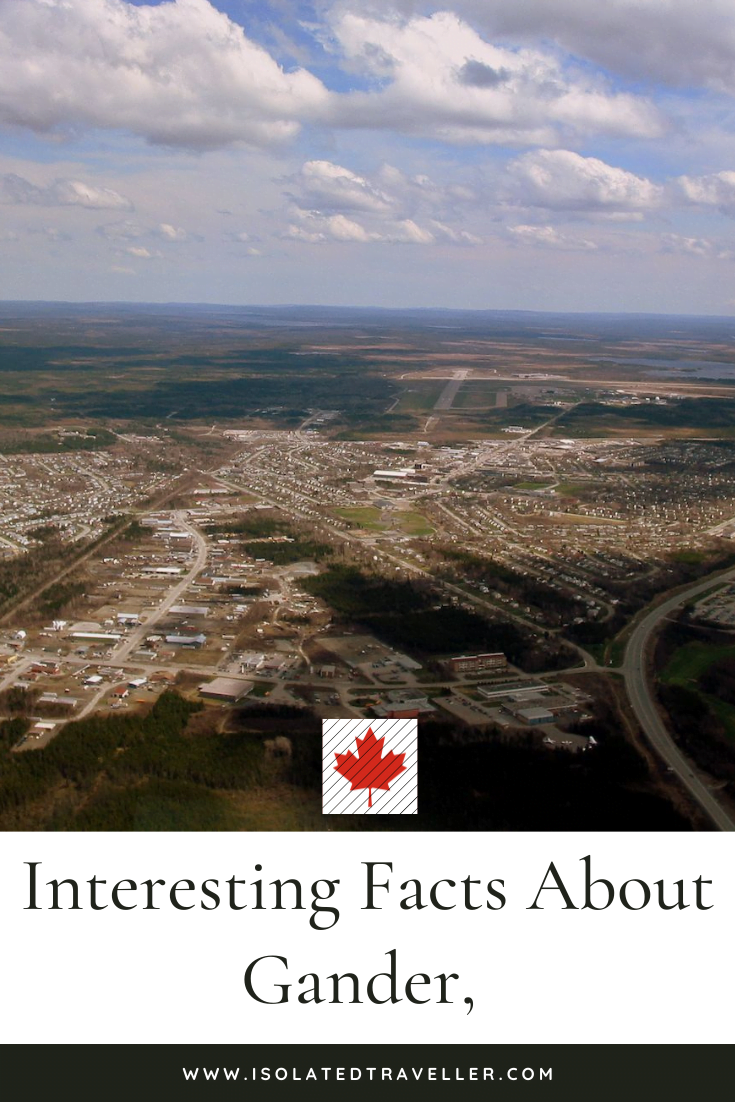 Facts About Gander, Newfoundland and Labrador