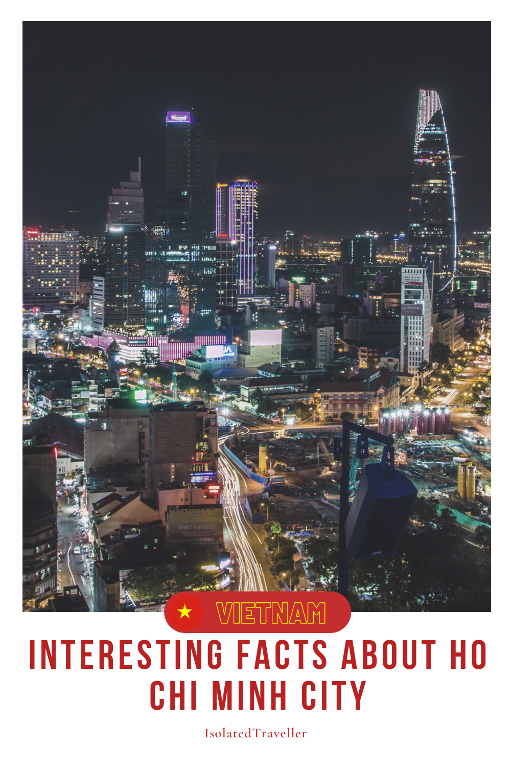Facts About Ho Chi Minh City
