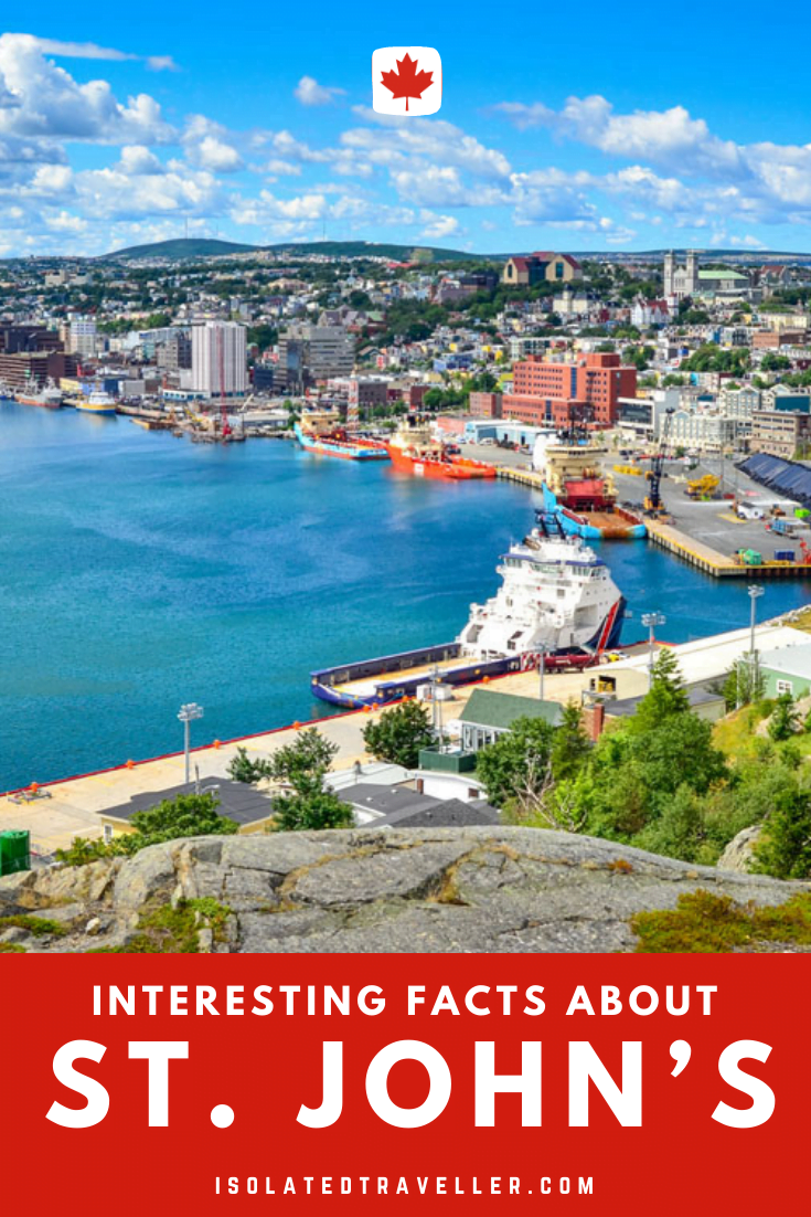 Facts About St. John's