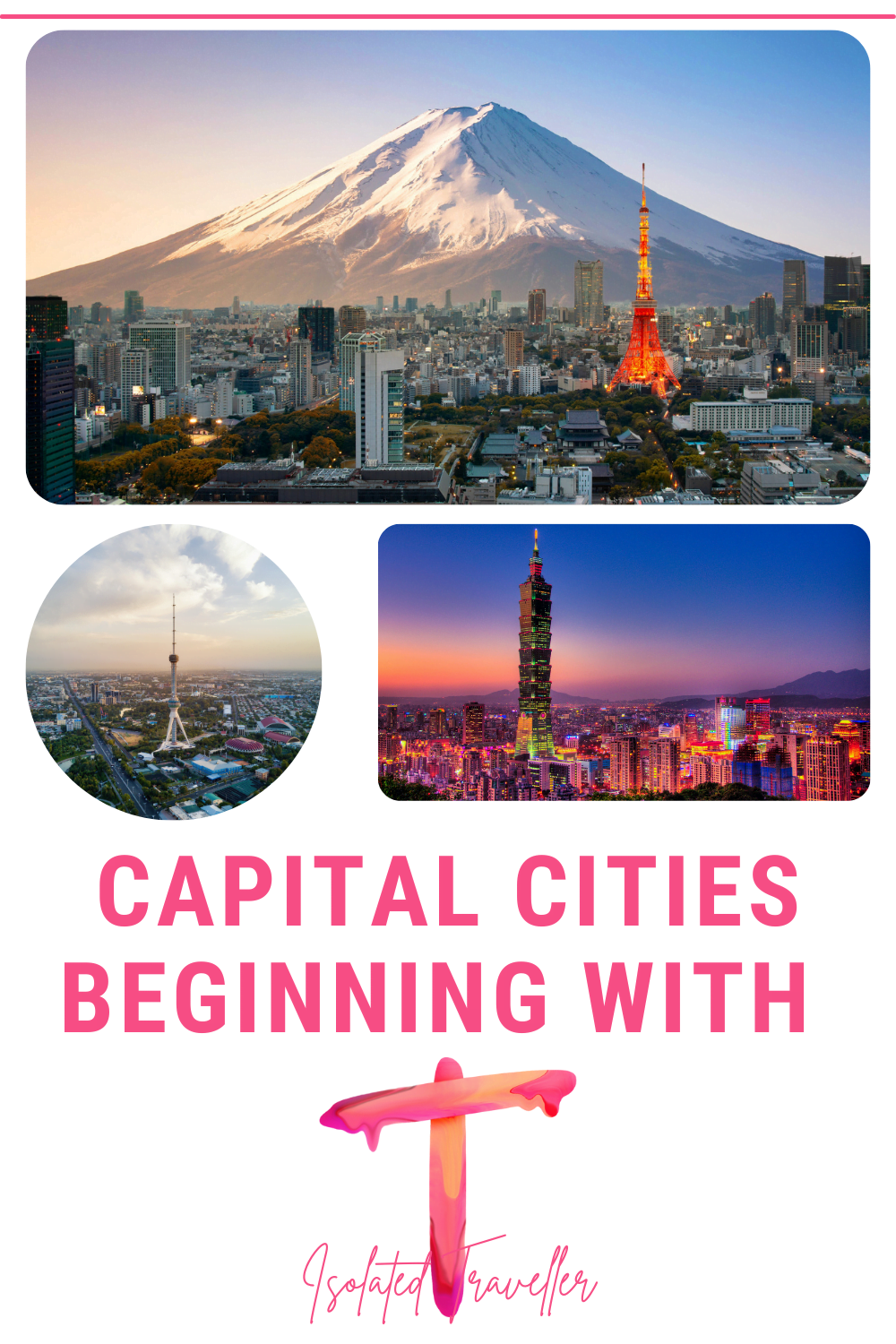 Capital Cities beginning with T