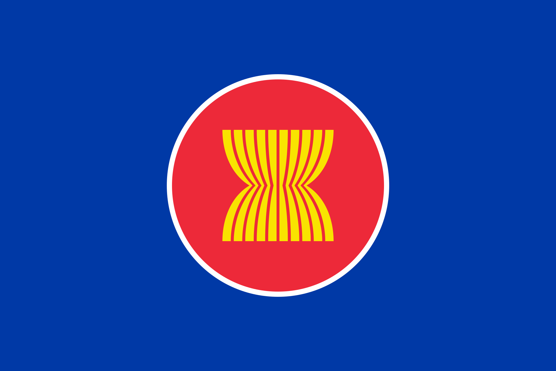 Association of Southeast Asian Nations Flag