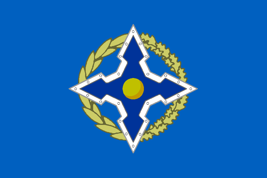 Flag of Collective Security Treaty Organization
