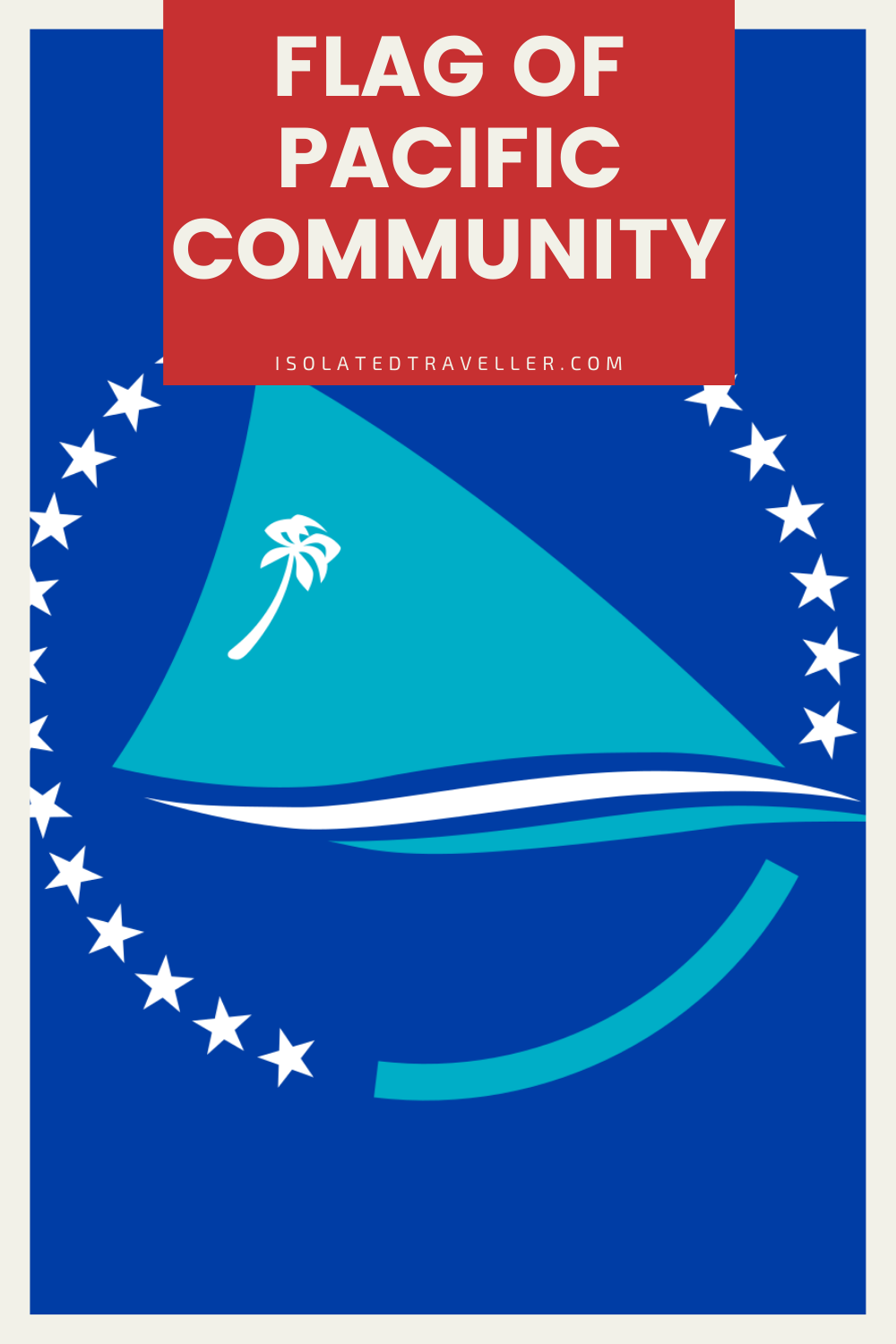 Flag of Pacific Community