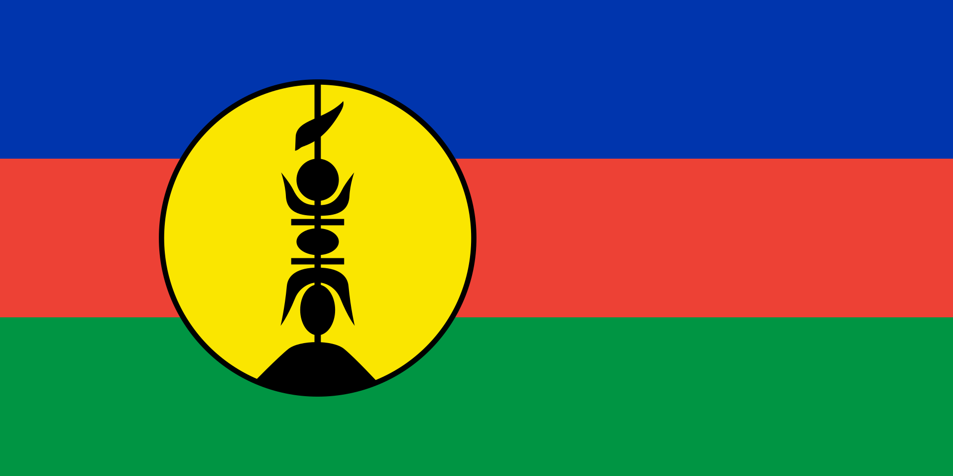 Flags of New Caledonia