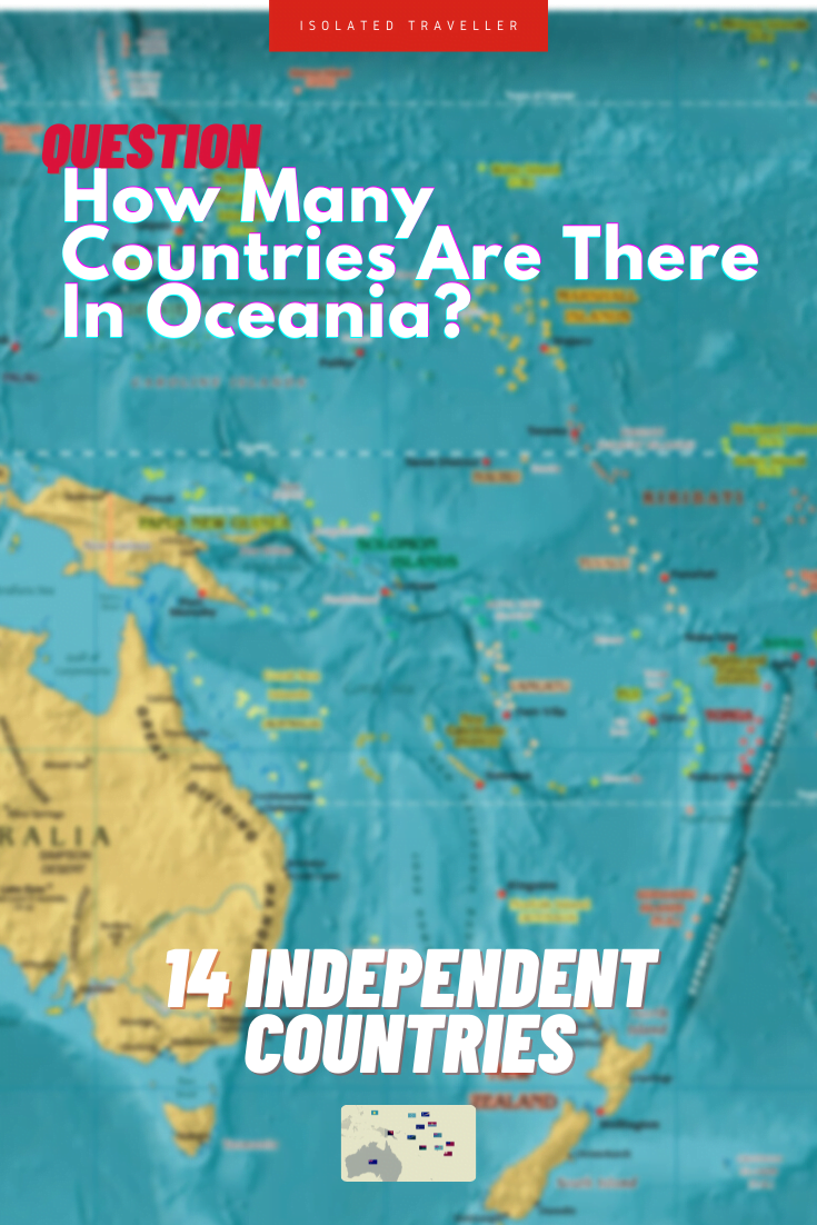 How Many Countries Are There In Oceania?
