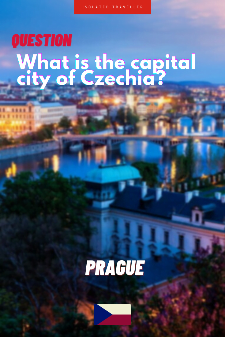 What is the capital city of Czechia?